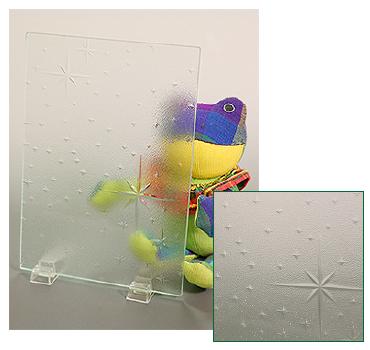 型板ガラス(銀河/ぎんが)
