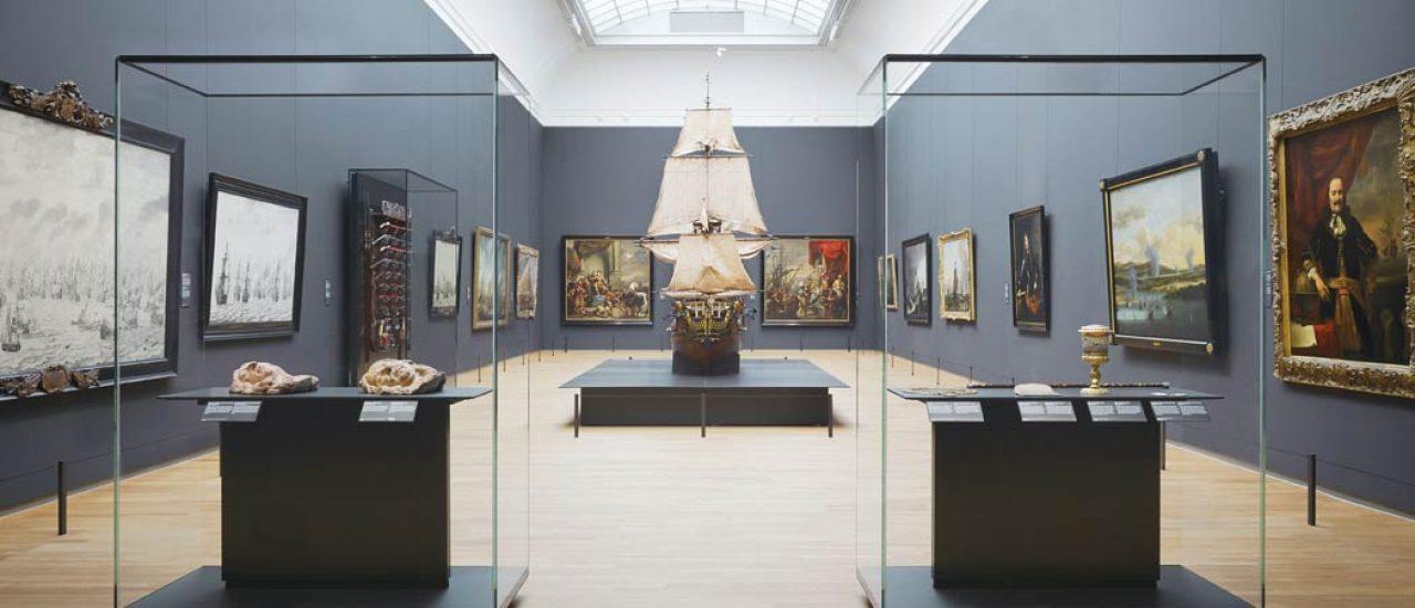博物館の展示スペース